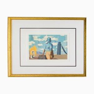 El dominio encantado después de René Magritte, 1968