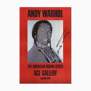 Lithographie Offset Indienne d'Amérique par Andy Warhol, 1977