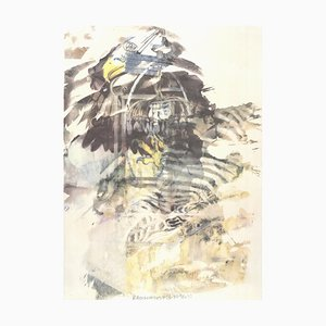 Eagle Offset Lithograph by Robert Rauschenberg, 1997