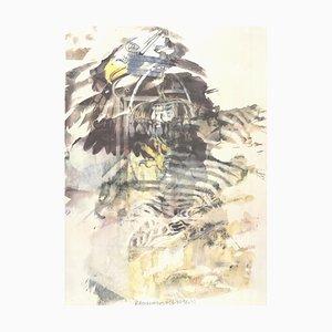 Lithographie Eagle Offset par Robert Rauschenberg, 1997