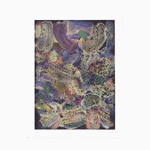 Mozart Night Silk Screen by Jules Olitski, 1992