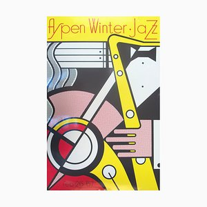 Aspen Jazz Silk Screen by Roy Lichtenstein, 1967