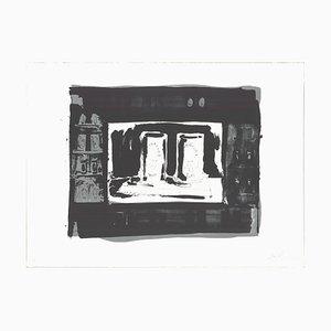 Ale Cans Lithografie von Jasper Johns, 1975