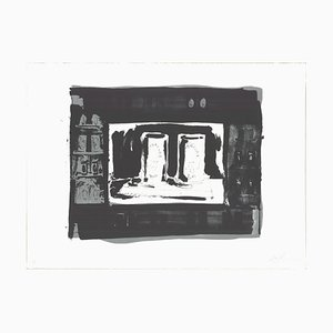 Litografia Ale Cans di Jasper Johns, 1975