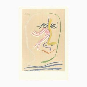 A Tribute Rene Char Vor dem Buchstaben Lithographie von Pablo Picasso, 1969