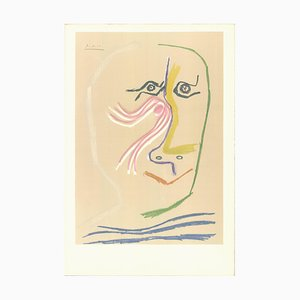 Litografia A Tribute Rene Char Before the Letter di Pablo Picasso, 1969