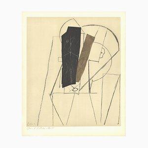 Lithographie Paper Stuck après Pablo Picasso, 1966