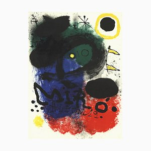 Album 19 Lithograph by Joan Miró, 1961