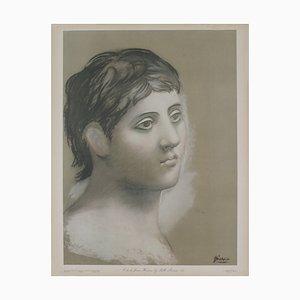 Tête de Pochoir Young Man Vintage d'après Pablo Picasso