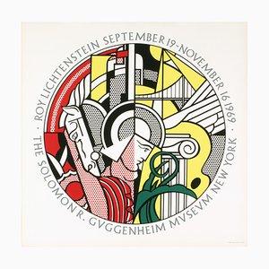 Guggenheim Museum Serigraph by Roy Lichtenstein, 1969