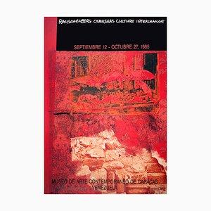 Litografia Roci Venezuela di Robert Rauschenberg, 1985