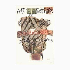 Art Institute of Chicago Offset Lithograph by Robert Rauschenberg, 1976