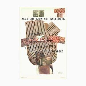 Galerie d'art Albright-Knox Offset Lithograph by Robert Rauschenberg, 1976