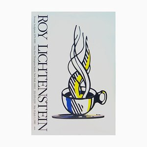 Cup and Saucer Lithograph after Roy Lichtenstein, 1989