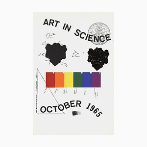 Art in Science Serigraph by Jim Dine, 1965