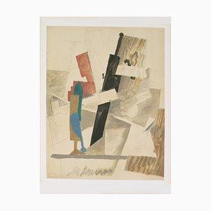 Litografia Papiers Colles-Drawings di Pablo Picasso, 1966