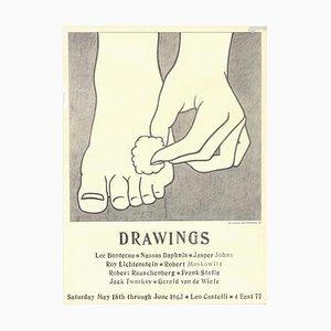 Foot Medication Offset Lithographie nach Roy Lichtenstein, 1963