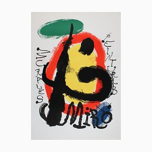 Murals Lithograph by Joan Miró, 1961