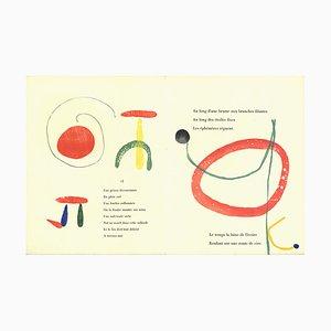 Woodcut 8 von Joan Miró, 1958
