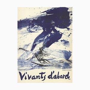 Litografia Living First di Zao Wou-Ki, 1968
