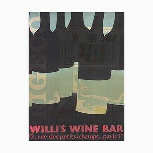 Willi's Wine Bar Lithograph by Alberto Bali