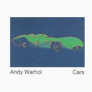 Litografia Formula 1 auto W196 R offset di Andy Warhol, 1989