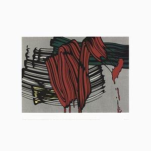Serigrafía Big Painting # 6 después de Roy Lichtenstein, década de 2000