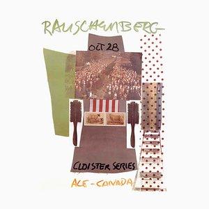 Cause Ace Gallery Cana Offset Lithographie von Robert Rauschenberg, 1981