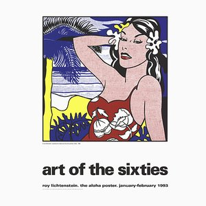 Aloha from Art of the Sixties Silk Screen after Roy Lichtenstein, 1993