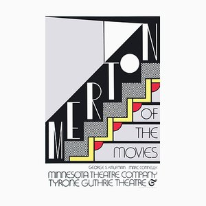 Merton of the Movies Foil Print after Roy Lichtenstein