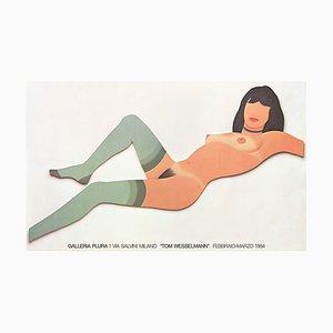 Galleria Plura Offset Lithographie nach Tom Wesselmann, 1984