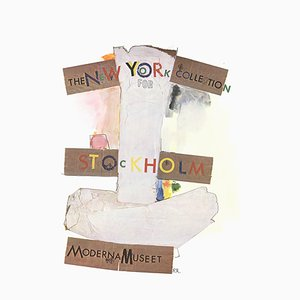 New York Collection for Stockholm Offset Lithograph by Robert Rauschenberg, 1968