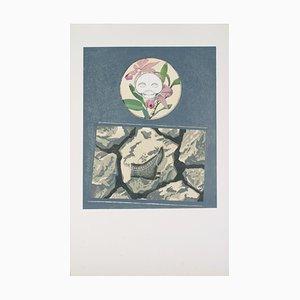 Litografia Delille edizione di Max Ernst, 1970