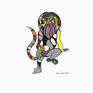 Divisorio Singe Lion dopo Niki de Saint Phalle