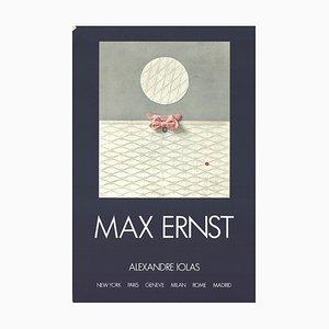 Lithographie Exposition Galerie Alexandre Iolas par Max Ernst, 1971