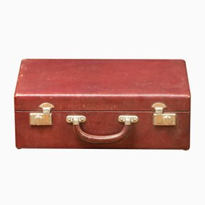 Red Leather Suitcase, 1920s