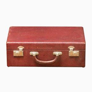 Valigia in pelle rossa, anni '20