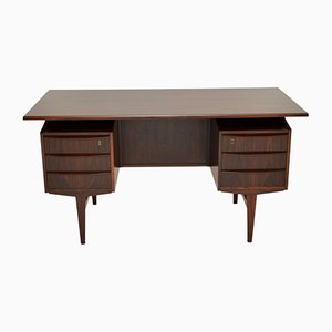 Danish Rosewood Freestanding Desk, 1960s