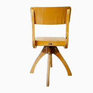 Mid-Century Wooden Children's School Chair from Casala, Netherlands