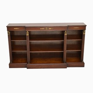 Neoclassical Style Mahogany Bookcase, 1950s