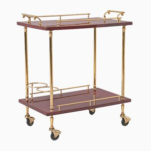 Italian Bar Cart by Aldo Tura, 1960s