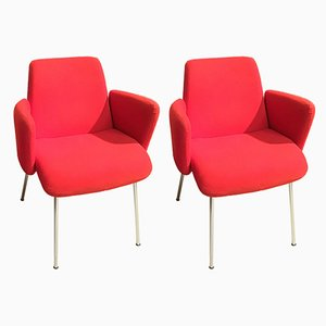 Vintage Moorea Armchairs by Vico Magistretti for Kartell, Milan, Set of 2