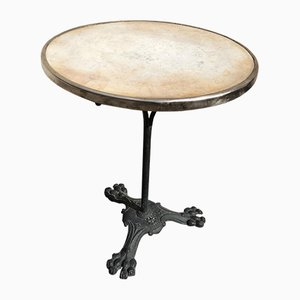 Antique Pedestal Bistro Table