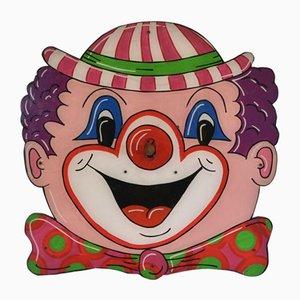 Art Vintage Mural Forain Clown Hoopla