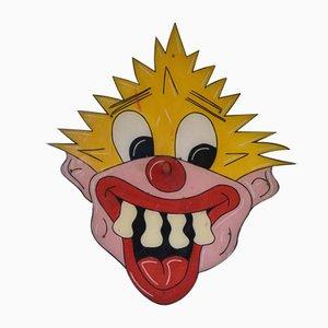 Vintage Messegelände Clown Hoopla Grafik Wandkunst