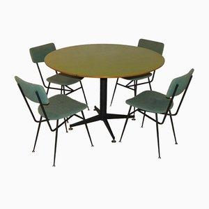 Set Table de Salle à Manger & Chaises de Officina di Ricerca, Danemark, 1960s, Set de 5