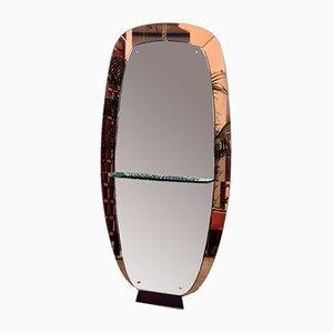 Specchio da terra di Crystal Art, anni '50