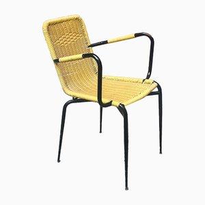 Italienischer Gelber Outdoor Scooby Stuhl, 1960er