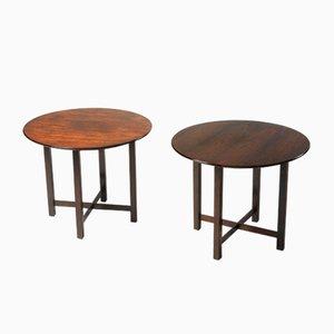 Tables d'Appoint Modernes Mid-Century de Fátima Arquitetura, Brésil, 1960s, Set de 2