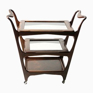 Mid-Century Modern 3-Tier Tea Cart from Teperman, Brazil, 1950s